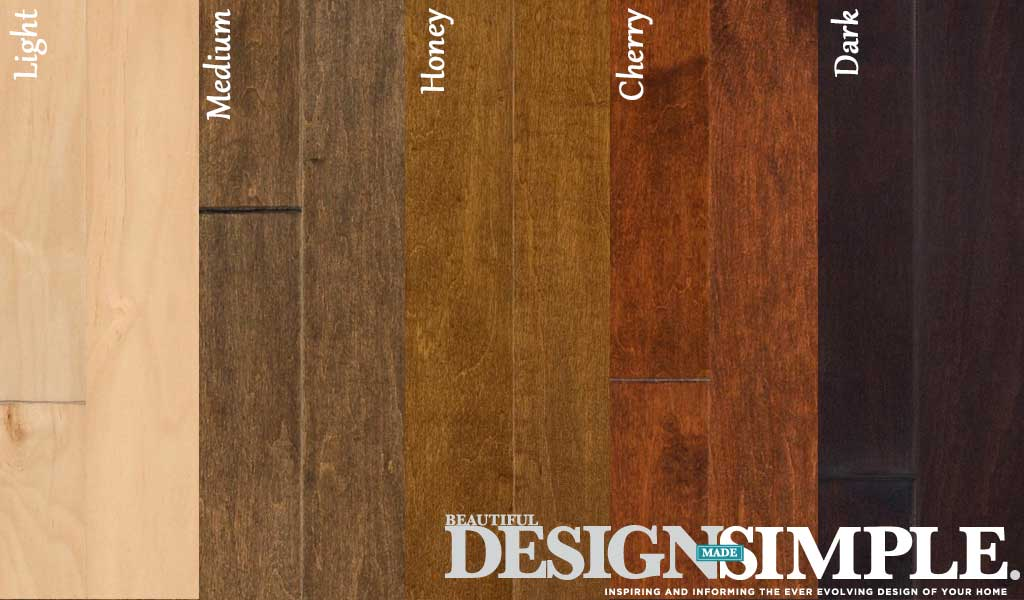 hardwood floor stain colors